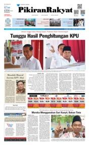 Cover Pikiran Rakyat 18 April 2019