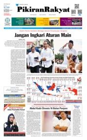 Cover Pikiran Rakyat 20 April 2019