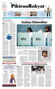 Cover Pikiran Rakyat 22 April 2019