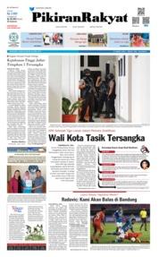 Cover Pikiran Rakyat 25 April 2019