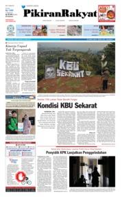 Pikiran Rakyat Cover 26 April 2019