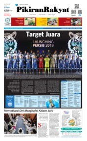 Cover Pikiran Rakyat 12 Mei 2019