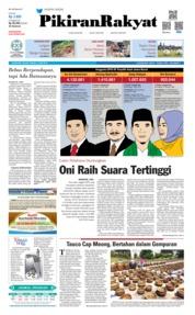 Cover Pikiran Rakyat 14 Mei 2019