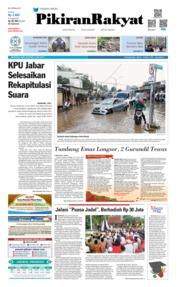 Cover Pikiran Rakyat 15 Mei 2019