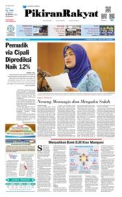Cover Pikiran Rakyat 16 Mei 2019