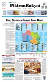 Cover Pikiran Rakyat 17 Mei 2019