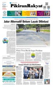 Cover Pikiran Rakyat 18 Mei 2019