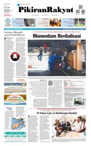 Cover Pikiran Rakyat 20 Mei 2019