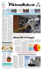 Cover Pikiran Rakyat 21 Mei 2019