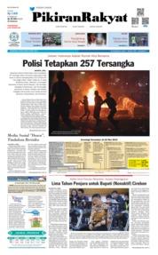 Cover Pikiran Rakyat 23 Mei 2019