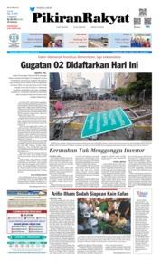 Cover Pikiran Rakyat 24 Mei 2019