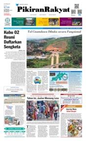 Cover Pikiran Rakyat 25 Mei 2019