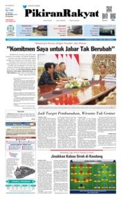 Cover Pikiran Rakyat 29 Mei 2019