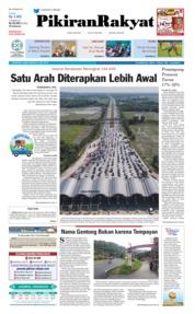 Cover Pikiran Rakyat 31 Mei 2019