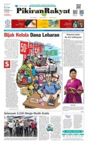 Cover Pikiran Rakyat 02 Juni 2019