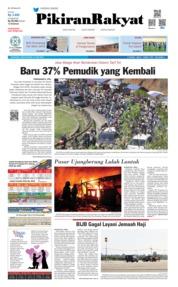 Cover Pikiran Rakyat 10 Juni 2019