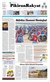 Cover Pikiran Rakyat 11 Juni 2019
