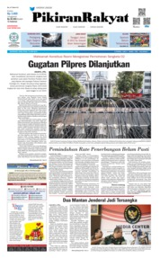 Cover Pikiran Rakyat 12 Juni 2019