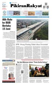 Cover Pikiran Rakyat 13 Juni 2019