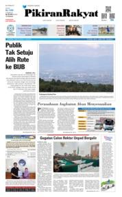 Cover Pikiran Rakyat 14 Juni 2019