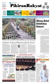Cover Pikiran Rakyat 15 Juni 2019