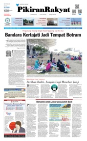 Cover Pikiran Rakyat 17 Juni 2019