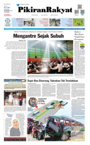 Cover Pikiran Rakyat 18 Juni 2019