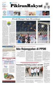 Cover Pikiran Rakyat 19 Juni 2019