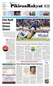 Pikiran Rakyat Cover 24 June 2019