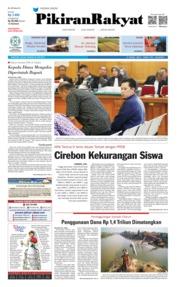 Pikiran Rakyat Cover 25 June 2019