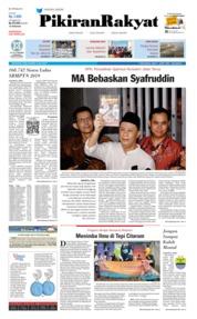Pikiran Rakyat Cover 10 July 2019
