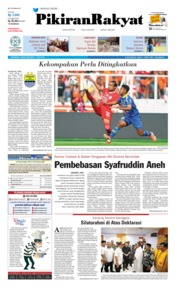 Pikiran Rakyat Cover 11 July 2019