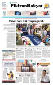 Pikiran Rakyat Cover 13 July 2019