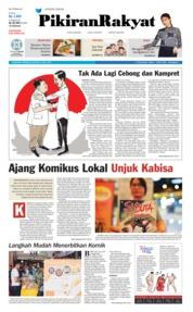 Pikiran Rakyat Cover 14 July 2019
