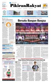 Pikiran Rakyat Cover 15 July 2019