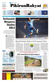 Cover Pikiran Rakyat 17 Juli 2019