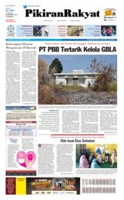 Cover Pikiran Rakyat 18 Juli 2019