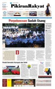 Cover Pikiran Rakyat 21 Juli 2019