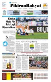 Pikiran Rakyat Cover 22 July 2019