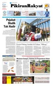 Cover Pikiran Rakyat 23 Juli 2019