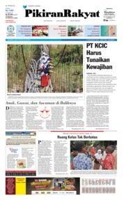 Pikiran Rakyat Cover 24 July 2019