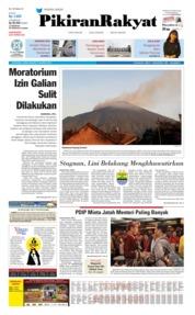 Cover Pikiran Rakyat 09 Agustus 2019