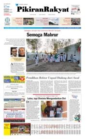 Cover Pikiran Rakyat 10 Agustus 2019