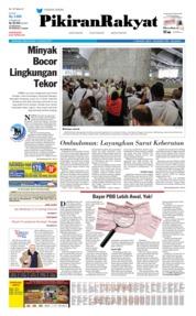 Cover Pikiran Rakyat 12 Agustus 2019