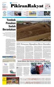 Cover Pikiran Rakyat 13 Agustus 2019