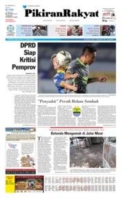 Cover Pikiran Rakyat 15 Agustus 2019