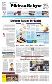 Cover Pikiran Rakyat 16 Agustus 2019