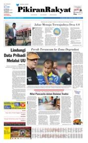 Cover Pikiran Rakyat 19 Agustus 2019