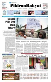 Cover Pikiran Rakyat 20 Agustus 2019