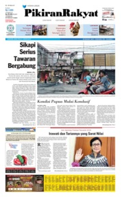 Cover Pikiran Rakyat 21 Agustus 2019